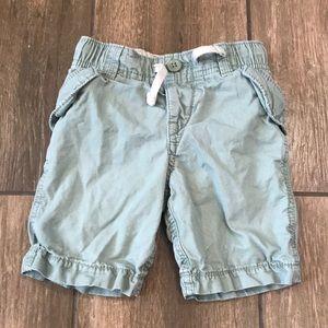 Gap Light Green Shorts in 3t